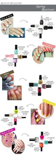 An easy but totally impactful way to add of-the-moment edge to the season of pretty sundresses and sandals is with some cheery new nail paint.
