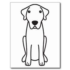 Anatolian Shepherd Dog Cartoon Postcard