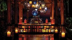 My favorite bar in Cabo at The One & Only Pamilla. A mix of luxurious Middle Eastern & Mexican decor.