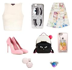 """""""Untitled #8"""" by aronan01 on Polyvore featuring beauty, Chiara Ferragni, Miu Miu, Ted Baker, Betsey Johnson and Casetify"""