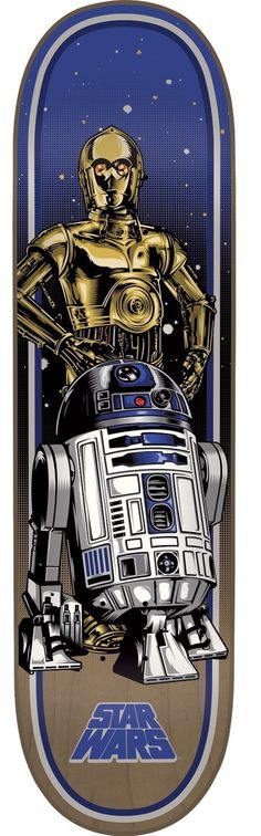 Santa Cruz Star Wars Droids Skateboard Deck