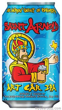 mybeerbuzz.com - Bringing Good Beers & Good People Together...: Saint Arnold Art Car IPA Cans Coming 10/12
