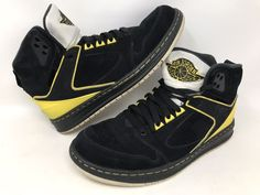049570012841 Details about Nike Air Jordan Sixty Club 60 Black Speed Yellow Mens Size 12  535790-050