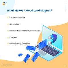 Strategic, well-planned lead magnets help you improve your campaigns and get desired results  #Lead #magnet #ReachStream Lead Magnet, Email Marketing, How To Plan, How To Make, Improve Yourself, Magnets, Campaign, Wellness
