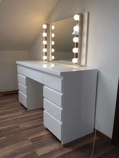 Modern White High Gloss Dressing Table Bedroom Design Ideas pertaining to measurements 768 X 1024 White Gloss Bedroom Dressing Table - There are tons of la White Gloss Dressing Table, Dressing Table Modern, Dressing Table Ideas Ikea, Dressing Table Inspiration, White Furniture Inspiration, Modern Vanity Table, Modern Table, White Vanity Table, Vanity Tables