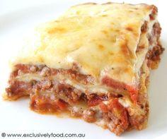 Simple lasagna sauce recipe