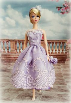 Silkstone BArbie Doll https://flic.kr/p/vF7veu | The ballerina collection lavender | SAMSUNG CAMERA PICTURES