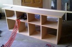 could make my own...sofa table for under wall mounted tv.