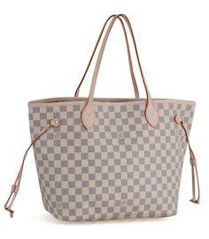 84b67b96f LOUIS VUITTON NEVERFUL DAMIER AZURE GM Louis Vuitton Neverfull Tote, Neverfull  Gm, Louis Vuitton