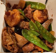 delight of 3 #shrimp #beef #chicken #vegetables #peapods #chinesefood #shanghaichinarestaurant #fooddelivery #takeout