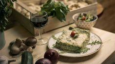 Lasagna Lorenzina (pesto de basilic, chèvre, noisettes et zeste de citron) chez Lalà - La Lasagneria (IXe).