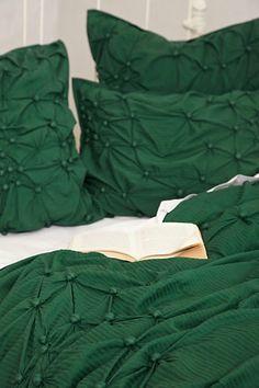 Pearle in dark emerald green - Anthropologie