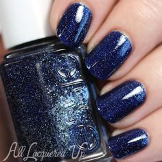 essie Starry Starry Night - being re-released January 2016. Love this sparkly blue!