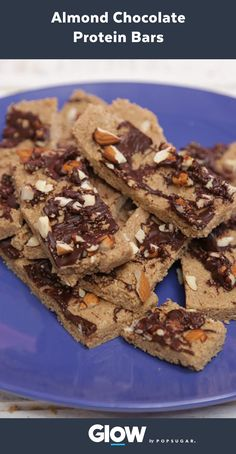 Energize your body with these almond chocolate protein bars that are better than dessert. For healthy recipes from Weight Watchers, go to weightwtch.rs/chocolatebar
