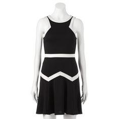 HeartSoul Colorblock Skater Dress - Juniors #Kohls