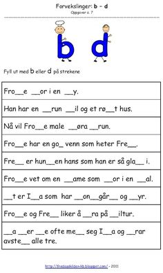 Sons Of Norway, Norwegian Words, Norway Language, Kids And Parenting, Montessori, Homeschool, Classroom, Teaching, Writing