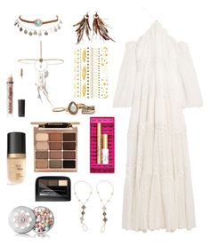 """""""Bohemian Princess"""" by elio-t on Polyvore featuring Zimmermann, Wet Seal, Forever Soles, Miss Selfridge, Stila, Too Faced Cosmetics, Charlotte Russe, Maybelline and Guerlain"""