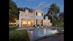 Stunning East Coast Traditional Estate 3815 Valley Meadow Road Encino, CA  91436