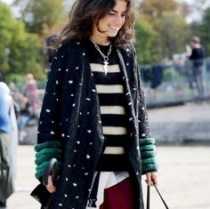 Jacket, stripes & dots!!