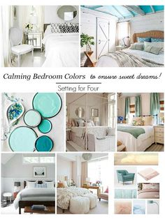 Gorgeous colors for a calming bedroom