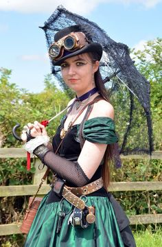 Steampunk at Tutbury Castle 2014 by masimage