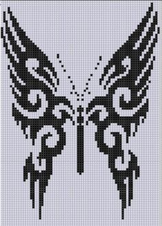 Butterfly 18 Cross Stitch Pattern by Motherbeedesigns - Craftsy
