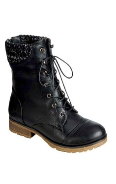 Combat boots My style and Boots on Pinterest