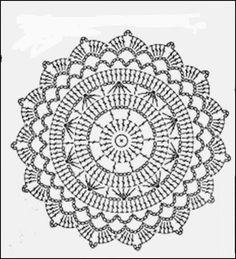 Ivelise Hand Made: Vestido de colores Por Asos unit circle crochet pattern