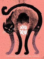 Xiu Xiu Poster - The Waiting Room, Omaha - Doe Eyed