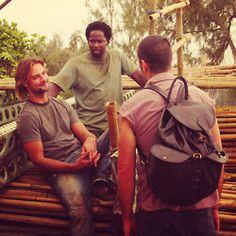 Sawyer, Michael & Jack - LOST