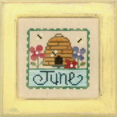 June Stamp Flip-It model from Lizzie Kate