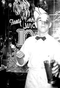 soda jerk, 1939