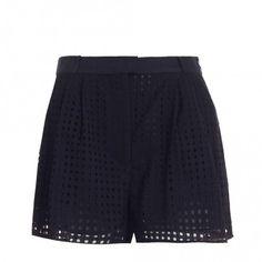 Writer Embroidered Check Short - Clothing - Swim & Resort