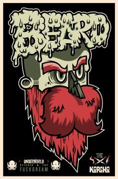 ILUSTRACIÓN  http://www.behance.net/gallery/BEARD-II/6951617