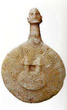 Hittite, İdol, Kültepe, 2100 BC (Erdinç Bakla archive)