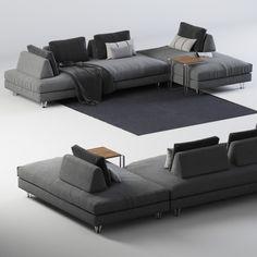 3D 3Ds Sofa Dema Fly - 3D Model