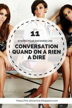 11 étapes pour entamer une conversation quand on a rien à dire