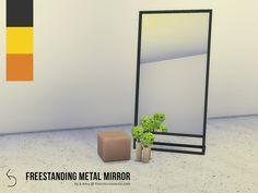 k-omu's Freestanding Metal Mirror