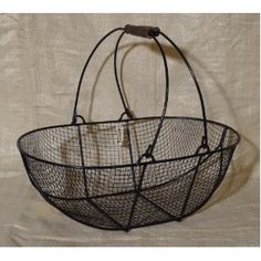 I need a garden basket to carry produce and hose it down outside on the way to the kitchen.