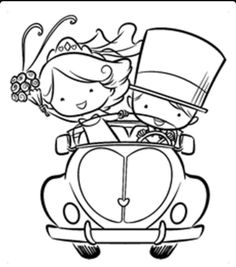 Online Shop Couple cutting cak Transparent Clear stamp and cutting dies DIY Silicone Seals Scrapbooking / Card Making/Photo Album Decoration Wedding Coloring Pages, Colouring Pages, Coloring Books, Wedding Activities, Wedding With Kids, Digi Stamps, Copics, Clear Stamps, Embroidery Patterns