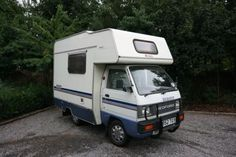 This has a 970cc engine, making it valid for the Rally!!!  It's a Bedford Rascal Bambi motor home