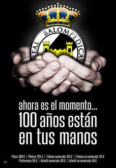 Cartel campaña abonados Balona 2011.2012