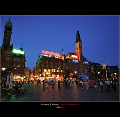 Town Hall Square Copenhgen