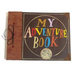 I love UP, and this is just the cutest. You can get your own adventure book, what a great idea :)
