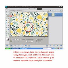 Sweet Caroline Studio: Make a sticker from an extracted image!