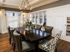 <i>Rehab Addict</i> Reno: 1913 Tudor, Transformed | HGTV Love everything about this room and the decor
