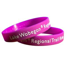 """These printed wristbands are one of the best-valued bands on the market today. Made from 100% latex-free silicone, the 1"""" band can be customized with a direct silkscreen imprint of your brand name and logo. Our printing technology allows us to print with incredible precision at the highest quality standards. Great for promoting fundraisers, awareness campaigns, organizations and more! No minimum quantity needed. Made in the USA."""