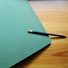 3 ring binder green seafoam canvas linen vintage school supplies