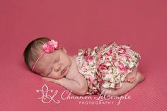 2PC Pink Lace Petti Romper.Flower by Pinkpaisleybowtique on Etsy