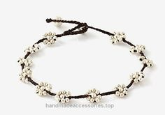 MGD, Silver Tone Color Bead and Bell Anklet. Beautiful Handmade Brass Flower Anklet. Small Anklets. Ankle Bracelet. Fashion Jewelry for Women, Teens and Girls, JB-0253A  Check It Out Now     $12.99    Handmade Product, slightly variations in Colours, Sizes and/or Pattern are expected. Please search for more colours a ..  http://www.handmadeaccessories.top/2017/03/17/mgd-silver-tone-color-bead-and-bell-anklet-beautiful-handmade-brass-flower-anklet-small-anklets-ankle-bracelet-fas..